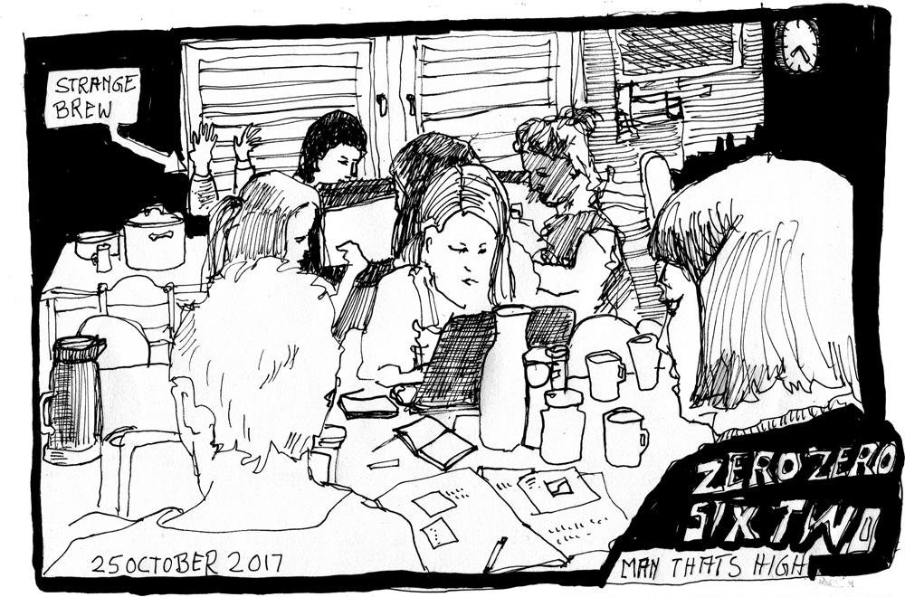 [49] MANFRED SCHLÖSSER zu Gast im Weinlager Ludwig von Kapff