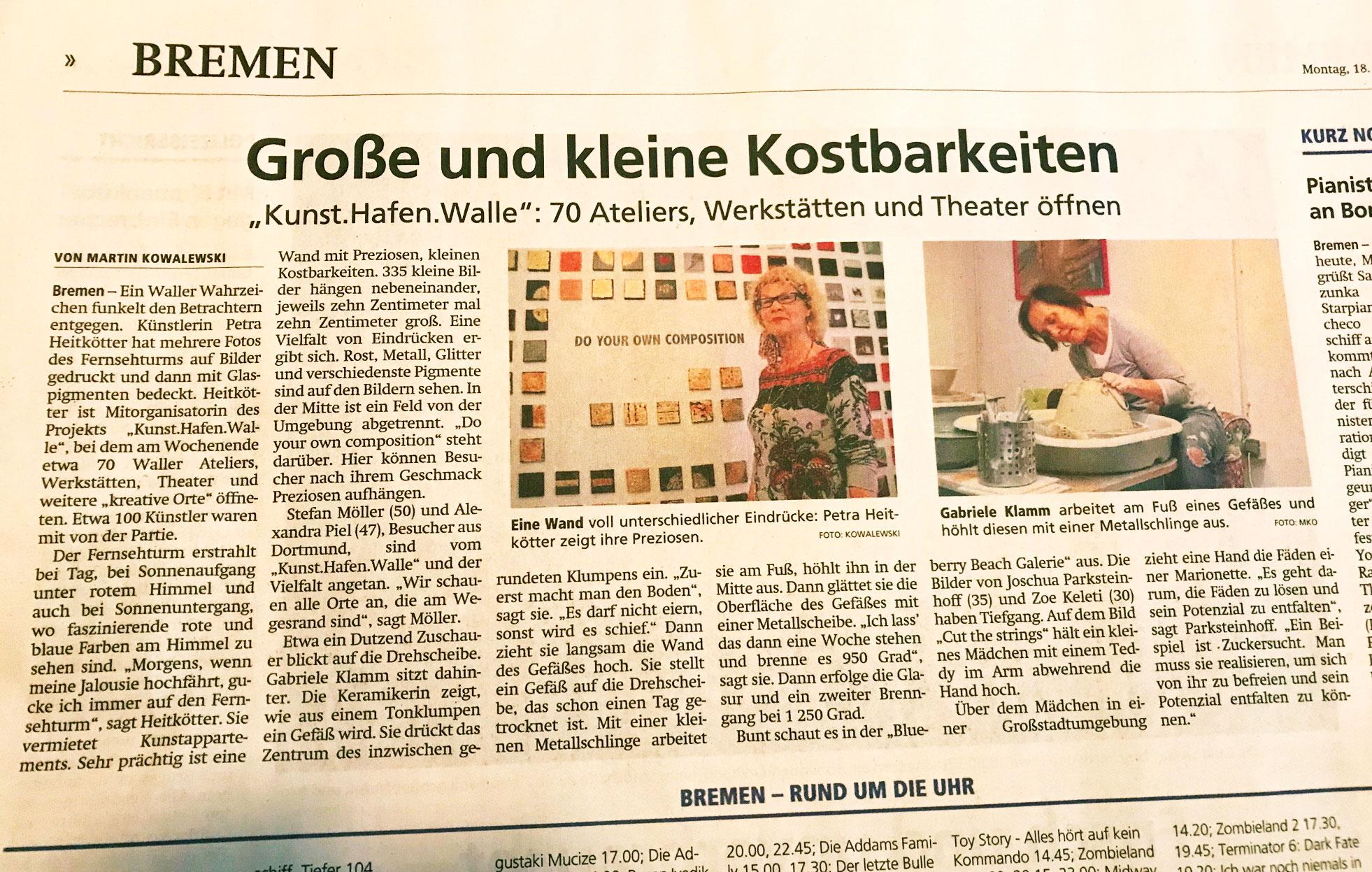 Kreiszeitung 18.11.2019