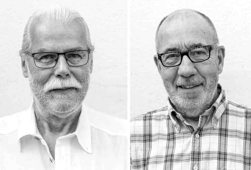 Volker Homburg und Ullrich Altmann