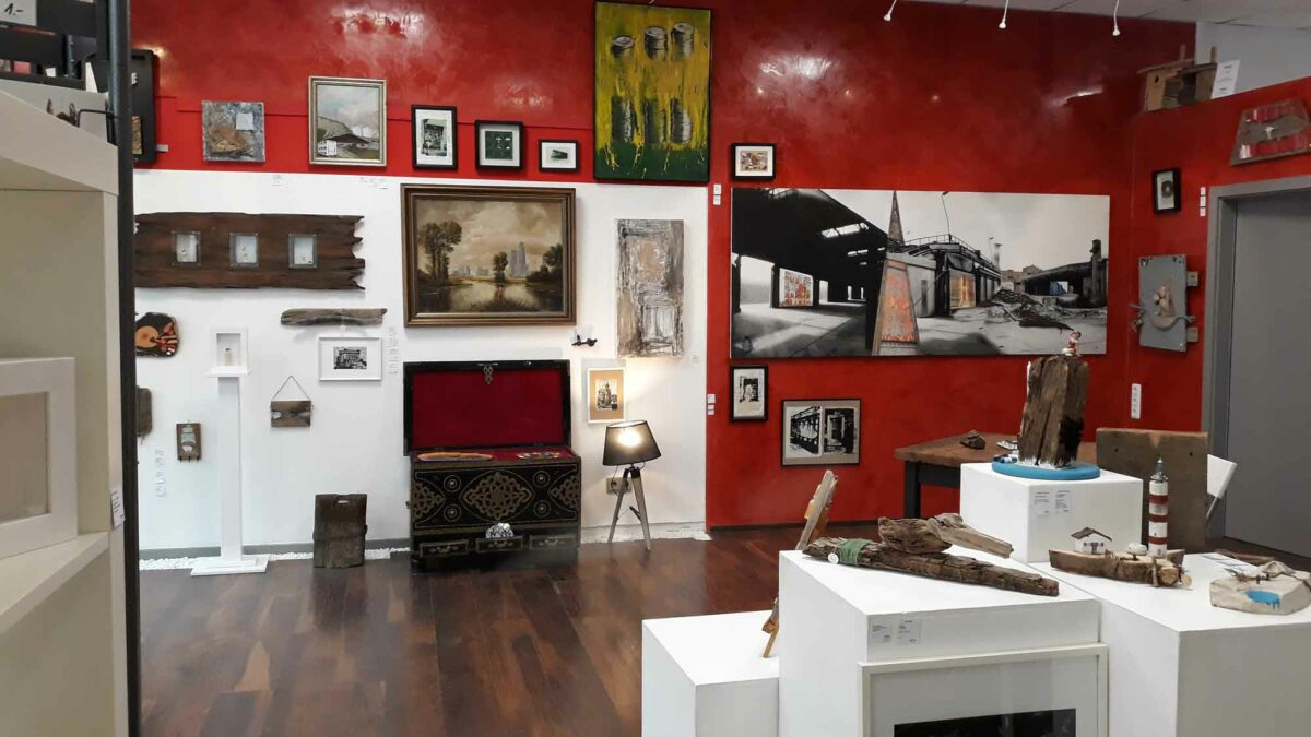 Wallerie, Upcycling Galerie